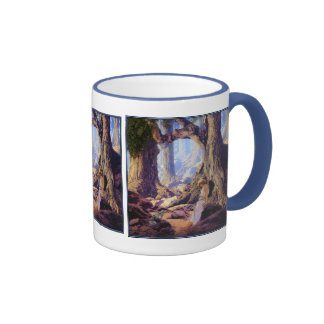 Mug: The Enchanted Prince- Maxfield Parrish Ringer Mug