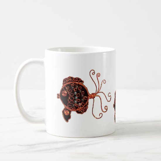 Mug - Three Copper Fish
