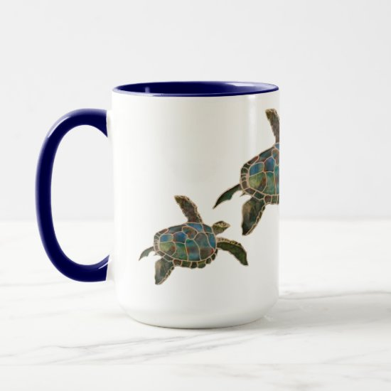 Mug - Three Sea Turtles