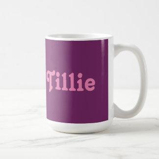 Mug Tillie