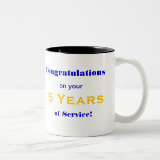 Mug to Celebrate Employee's Years of Service