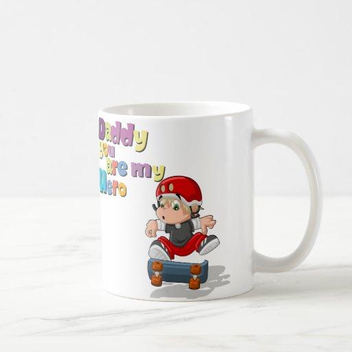 Mug to Daddy Taza Clásica