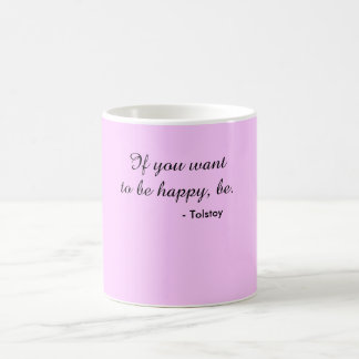 Mug - Tolstoy be happy