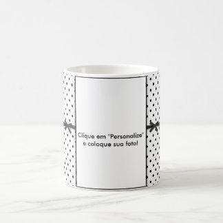 """Mug transmutação """"Laces and small balls """""""