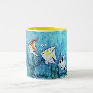 Mug -Tropical Angel Fish