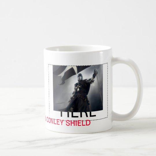 Mug Two-Image Template Conley Crusader & Shield