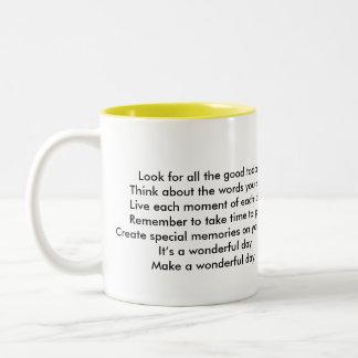 Mug Two-Image Template - Customized
