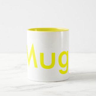 Mug. Two-Tone Coffee Mug