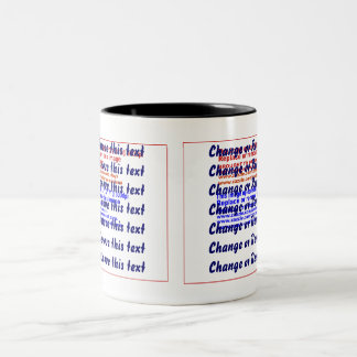 Mug Two-Tone  pick left or right add or remove