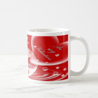 Mug-Valentines Day Card~~Be my valentine Classic White Coffee Mug