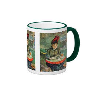 Mug: Van Gogh - Woman in Cafe