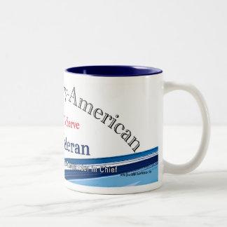 Mug, Veteran Two-Tone Coffee Mug