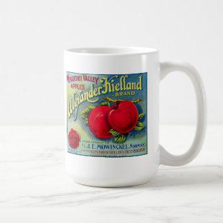 Mug - Vintage Apple Label