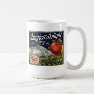 Mug - Vintage Apple Label2