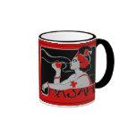 Mug Vintage Cafe Rajah 2 Coffee Mug