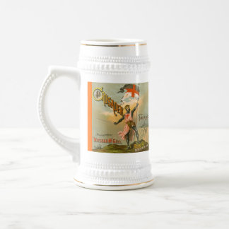 MUG ~ VINTAGE CRUSADER TOBACCO ADVERTISEMENT AD!
