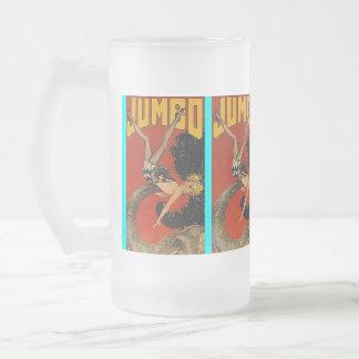 MUG ~ VINTAGE JUMBO ELEPHANT w/ PIN-UP GIRL!