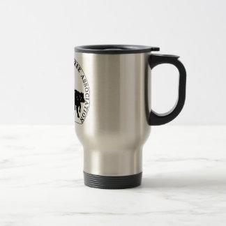 Mug Voyage Cabernet CHA Metal Logo Noir