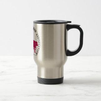 Mug Voyage Cabernet CHA Metal Logo Rose