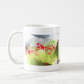 Mug Wanaka poppie flowers