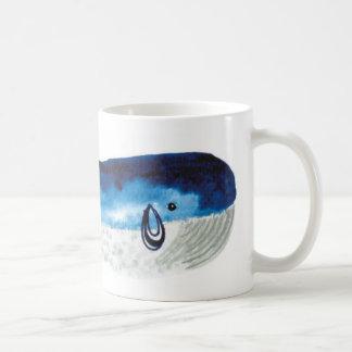 Mug - Watercolour Blue Whale