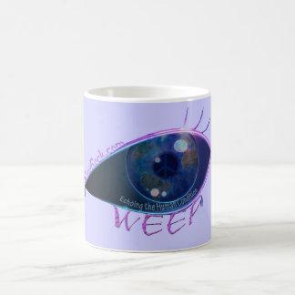 MUG- WEEP weeping eye 11 Oz Magic Heat Color-Changing Coffee Mug