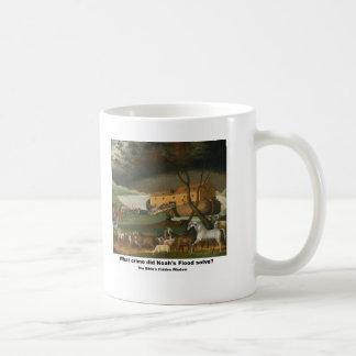 Mug - What crime did Noah's Flood solve?