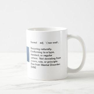 Mug: What is Normal? Coffee Mug
