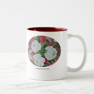 Mug White Roses