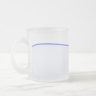 Mug White-Royal Blue
