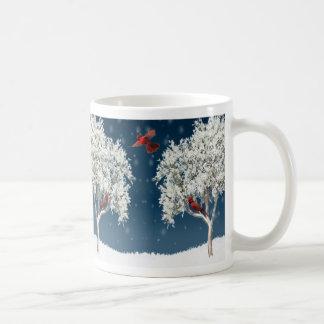 Mug-Winter Cardinals
