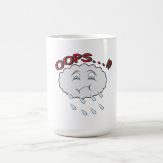 Mug with an incontinent little cloud