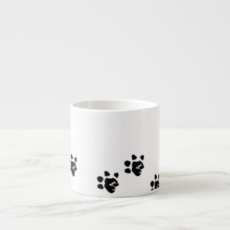 Mug with Basset's paw Espresso Cup
