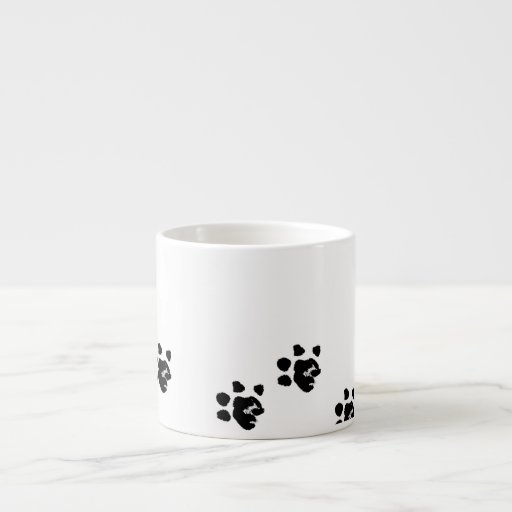 Mug with Basset's paw Espresso Cup