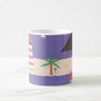 Mug with Beach and Ocean Scene