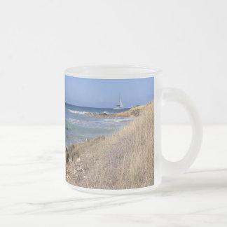 Mug with Beach Image in Antigua