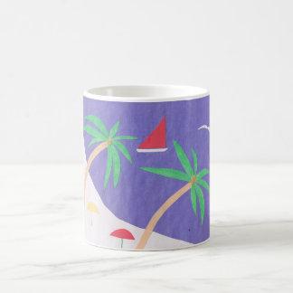 Mug with Beach Scene