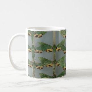 Mug with beautiful hawk moths