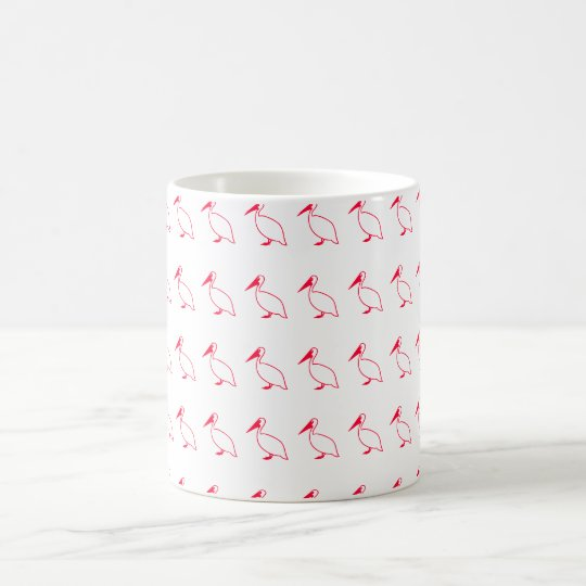 Mug with bird clip
