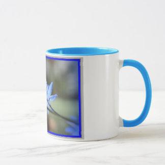 Mug with Blue Scilla