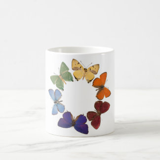 Mug with butterfly ring