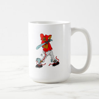 Mug with Cartoon Character African American Batter