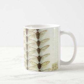 Mug with cicadas