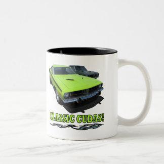 Mug With Classic Cudas Design