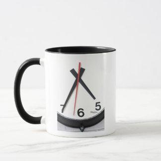 Mug with clock hands, clocks, time, time piece