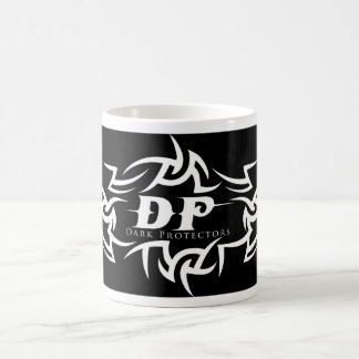 mug with Dark Protectors logo