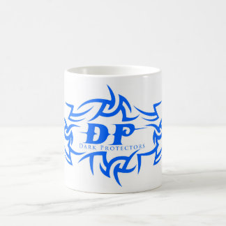 Mug with Dark Protectors Logo Blue