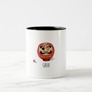 Mug with Daruma doll