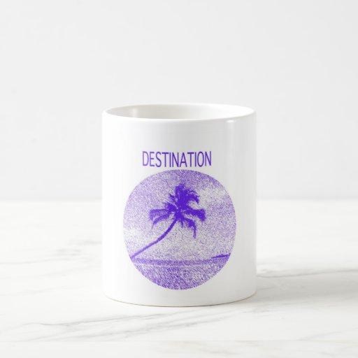 """mug with """"destination"""""""