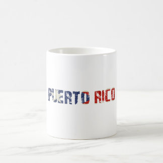 Mug with Dirty Patriotic Puerto Rican Flag Text